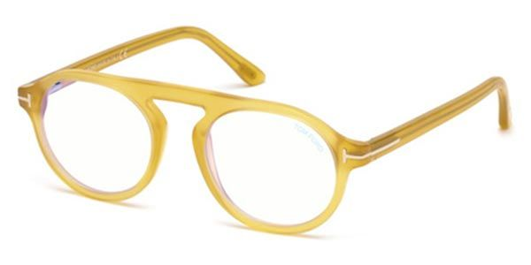 26e67a6d84 Tom Ford FT5534-B 039 Glasses Yellow
