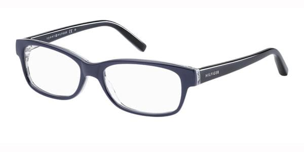 4fac81ff265 Tommy Hilfiger TH 1018 88T Eyeglasses in Dark Blue