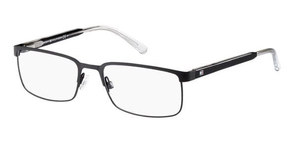 2f71e948a00 Tommy Hilfiger TH 1235 FSW Eyeglasses in Black Crystal ...