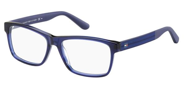 Óculos de Grau Tommy Hilfiger TH 1237 1IA Blue Transparent ... 4252f358e4