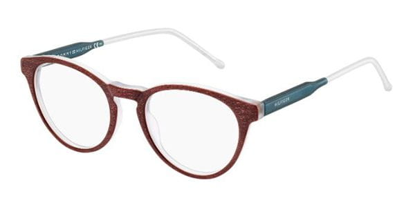 7c83281bc54 Lentes Opticos Tommy Hilfiger TH 1393 QRM Rojo