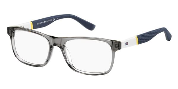 Óculos de Grau Tommy Hilfiger TH 1282 FNV Crystal Grey   OculosWorld ... 9b5cadfa7a