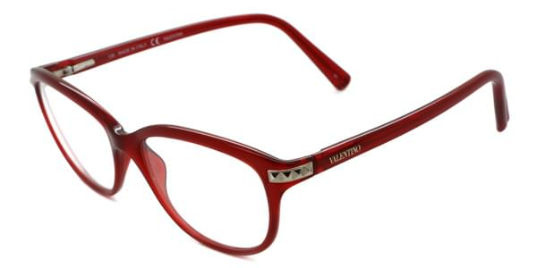 Valentino Val 2652 613 Eyeglasses In Red Smartbuyglasses Usa