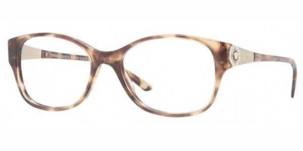 98169c0474 Lentes Recetados Versace VE3168B 967 Spotted Brown | LentesWorld México