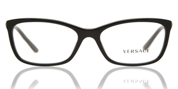 c659bec367f Versace VE3186 GB1 Glasses Black