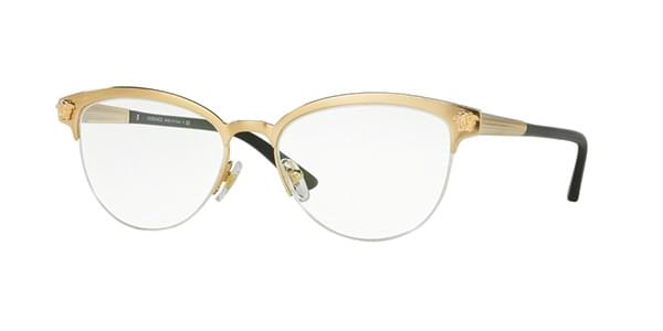 1ba3c9b1ae3b Versace VE1235 1352 Eyeglasses in Gold | SmartBuyGlasses USA