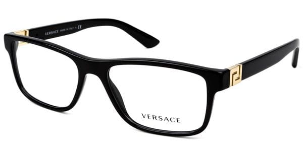 2f7fff0cdedb Versace VE3211 GB1 Eyeglasses in Black | SmartBuyGlasses USA
