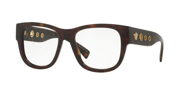 6ff57e7194d5c Versace VE3230A Asian Fit 108 Eyeglasses in Tortoise ...