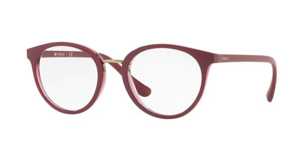 Vogue Eyewear VO5167 Outline 2555 Eyeglasses in Red ... 14a7a8253a