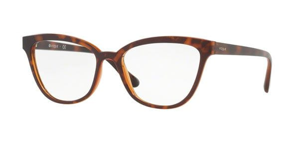 22003c0f1 Óculos Graduados Vogue Eyewear VO5202 Light & Shine 2386 Tortoise ...