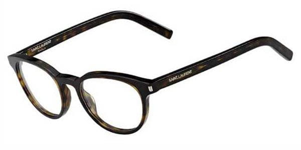 17d5a03aeb9 Yves Saint Laurent CLASSIC 10 086 Eyeglasses in Dark Havana ...