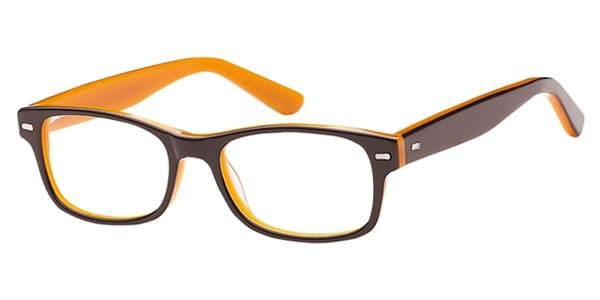 4092b05a61 visiondirect Collection Hayden Kids D AK59 Glasses Brown ...