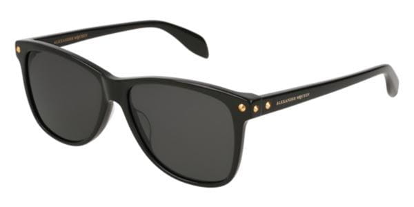 da01d9b101635 Alexander McQueen AM0099S 001 Sunglasses Black