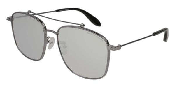 c63efbd49c7 Alexander McQueen AM0124SK 001 Sunglasses Grey