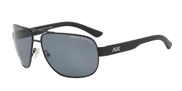 90ad8e95aa2 Armani Exchange AX2012S Polarized 606381 Sunglasses Black ...