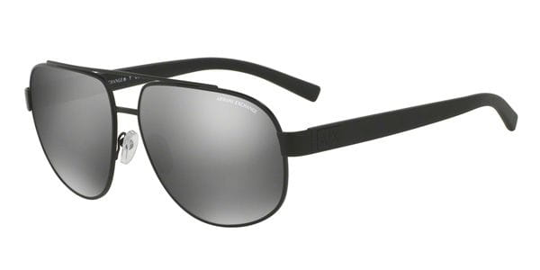 818563eaa68 Armani Exchange AX2019S 60636G Sunglasses Black