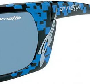 Arnette Slide 4007 4187 66 17 Source · Arnette AN4007 Slide 21O 87  Sunglasses in Blue SmartBuyGlasses USA be2bc568ba8