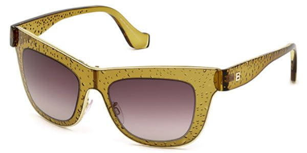 9d8bed493 Balenciaga BA0055 48Z Sunglasses Yellow | SmartBuyGlasses South Africa