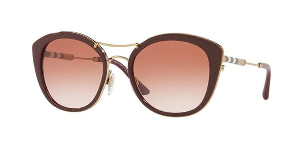 cf43c3341 Óculos de Sol Burberry BE4251Q 340313 Bordô | OculosWorld Portugal
