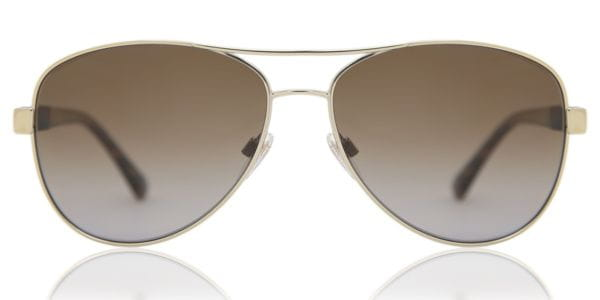 dcfcc526d Burberry BE3080 Polarized 1145T5 Sunglasses Gold | SmartBuyGlasses ...
