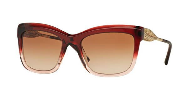 9b521862b9 Burberry BE4207F Gabardine Lace Asian Fit 355313 Sunglasses in Pink ...