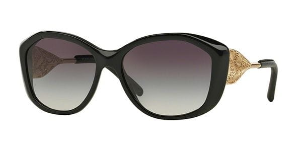 d336b09c4a Burberry BE4208QF Gabardine Lace Asian Fit 30018G Sunglasses in ...