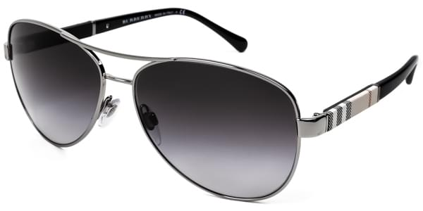 64d652715a Burberry BE3080 10038G Sunglasses Silver