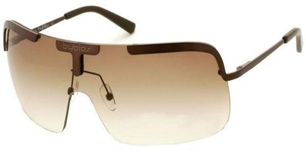 61d051acf07c Byblos BY 504 03O Sunglasses Brown | VisionDirect Australia