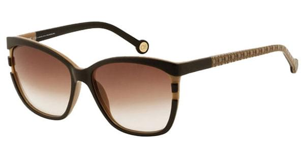 dc780f42f6 Carolina Herrera SHE543 06UP Sunglasses Brown