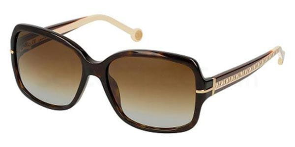 f62461dc34 Carolina Herrera SHE574 0722 Sunglasses Tortoise