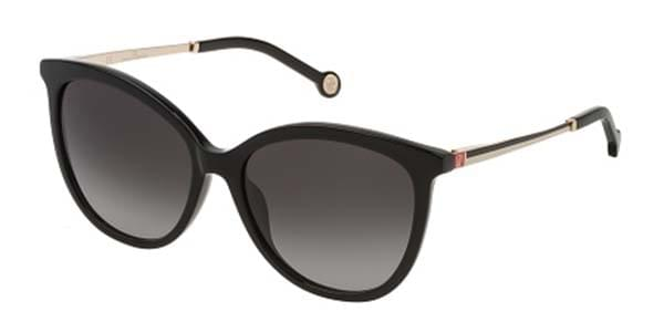7e2ac6cf5e Carolina Herrera SHE798 0700 Sunglasses Black