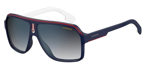 f4645c88b315 Carrera CARRERA 1001/S 8RU/KM Sunglasses in Blue | SmartBuyGlasses USA