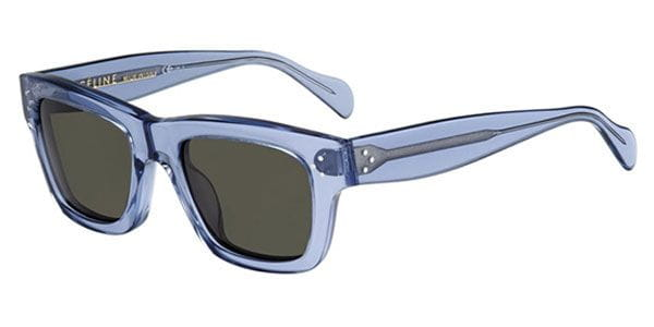 42e4a49b9996 Celine CL 41732/S Original TSK/1E Sunglasses Blue | SmartBuyGlasses UK