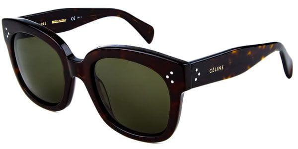 b5ea36d1b8f Celine CL 41805 S New Audrey 086 1E Sunglasses in Tortoise ...