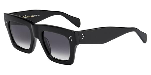 3d0b70d3f3fe Celine CL 41054/S Large Original 807/W2 Sunglasses in Black |  SmartBuyGlasses USA