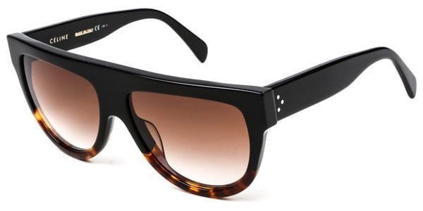 Celine Black Fu55i Cl Shadow 41026s Sunglasses In 6Y7gbfy