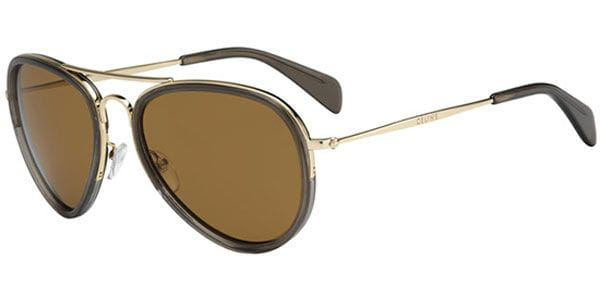 3c3d740abbfd Celine CL 41032 S Hamptons GH3 HR Sunglasses Gold