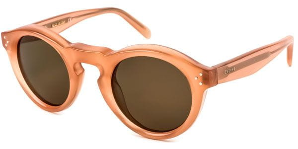 27403406b230 Celine CL 41370 S Bevel Round N8O X7 Sunglasses in Pink ...