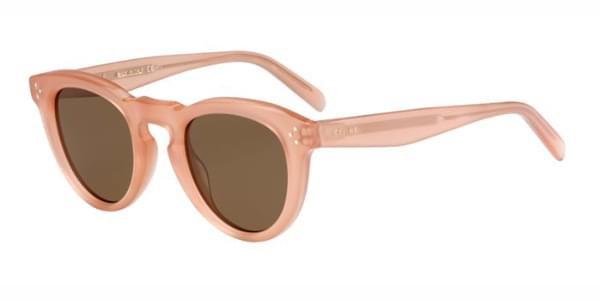 Celine CL 41384/F/S Bevel Cat Asian Fit N8O/X7 Sunglasses in Pink ...