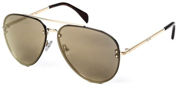 aa4bc5d80170 Celine CL 41391 S Mirror J5G MV Sunglasses Gold