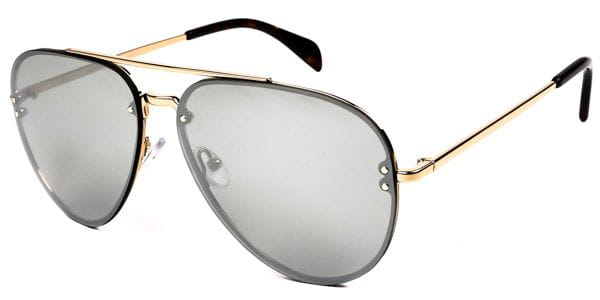 5782438b83 Celine CL 41391 S Mirror J5G SS Sunglasses in Gold
