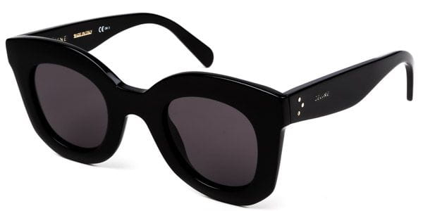 dff504586f3d6 Celine CL 41393 S Baby Marta 807 BN Sunglasses in Black ...