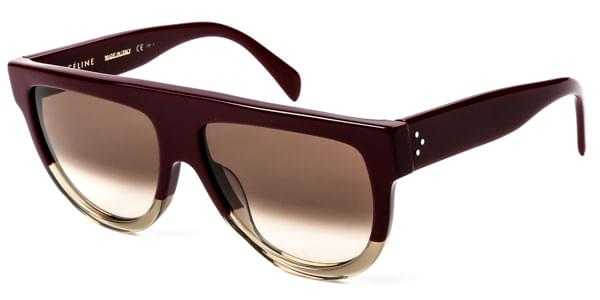 593f58a28a Celine CL 41026 S Shadow JAH X9 Sunglasses in Burgundy ...