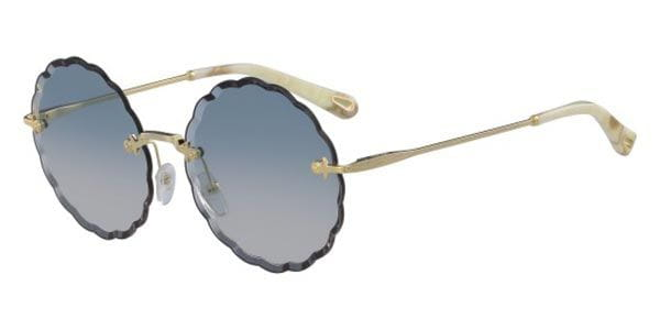 1d80d0f42ad Chloe CE 142S 816 Sunglasses in Gold