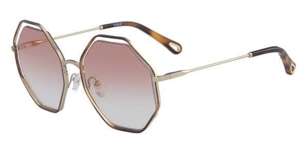 f28d0d70284 Chloe CE 132S 211 Sunglasses in Gold