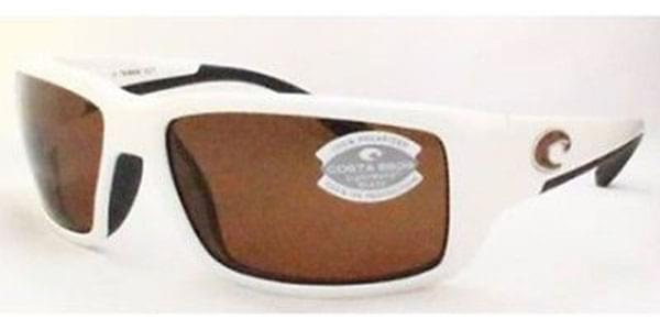 acc75669c8 Costa Del Mar Fantail Polarized TF 25 OCP Sunglasses White ...