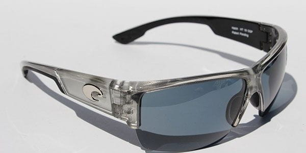 97c067be0db7 Costa Del Mar Galveston Polarized GV 18 OSCP Sunglasses in Silver ...