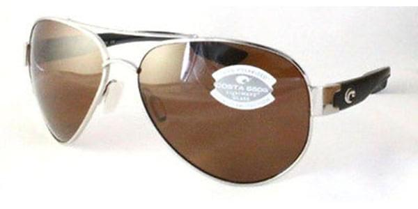 ad568eeb388 Costa Del Mar South Point Polarized SO 21 OCP Sunglasses in Silver ...