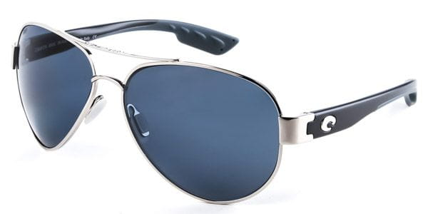5f83e1cb3a8 Costa Del Mar South Point Polarized SO 21 OGP Sunglasses in Silver ...