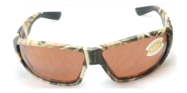 c288f34d387 Costa Del Mar Tuna Alley Polarized TA 65 OCP Sunglasses Brown ...